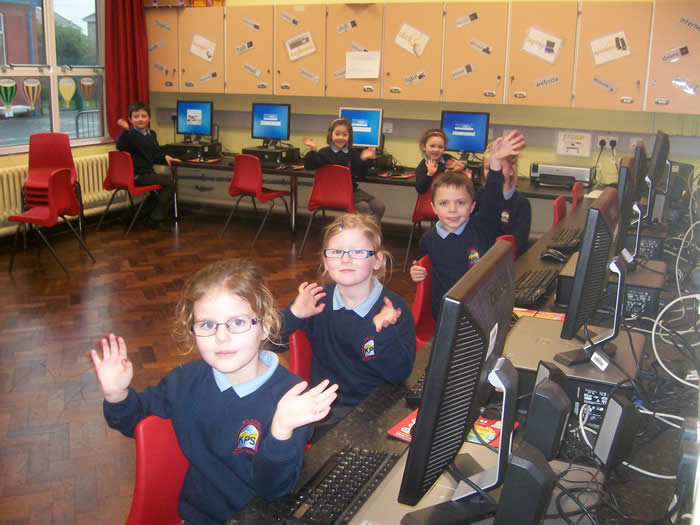 The new KS1 Computer Suite.