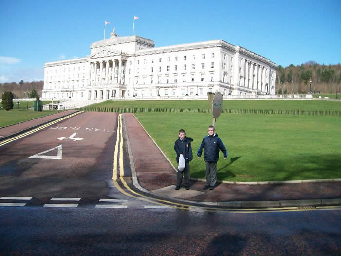 P7 at Stormont.