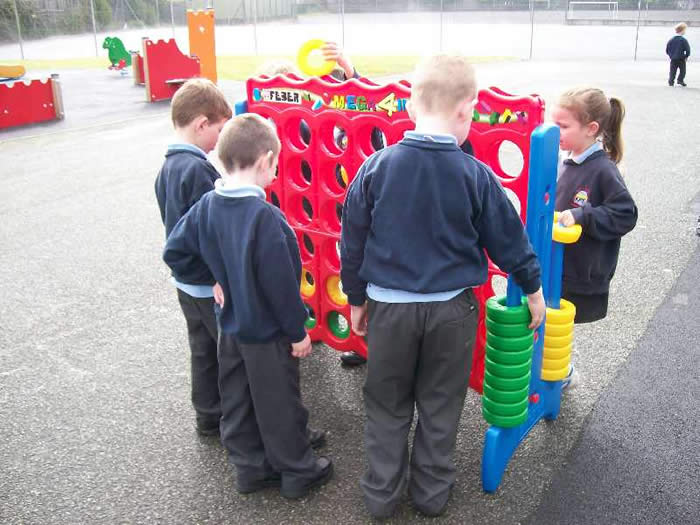 P1 - P3 pupils enjoying our After School Club