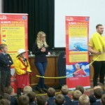 Special assembly taken by RNLI