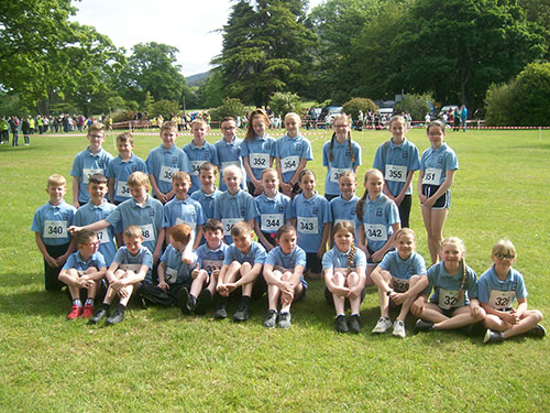 Well done to the team who took part in the Kilbroney cross country.